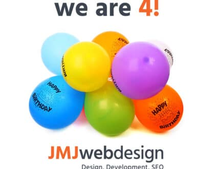JMJ Web Design 4th birthday